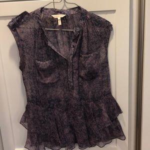 Rebecca Taylor size 0 Silk blouse